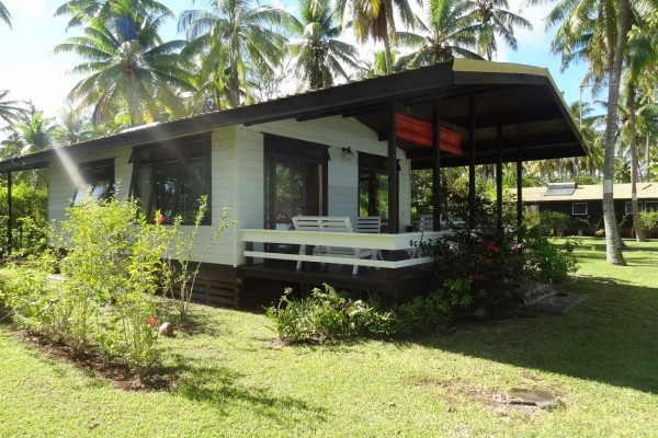 Pension Sunset Beach Raiatea - Bungalow mit Kitchenette - Tahiti