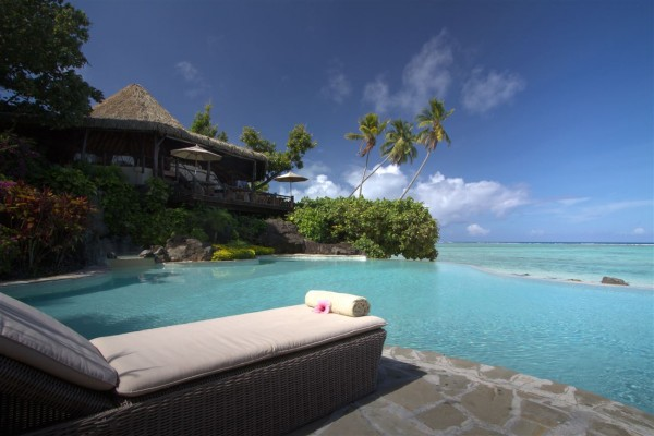 Hotel Pacific Resort Aitutaki - Pool - Cook Inseln