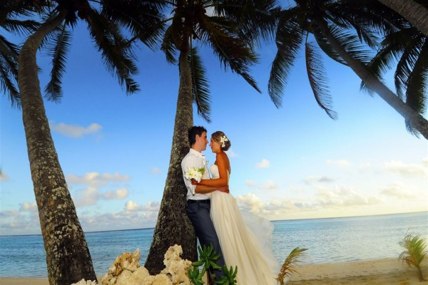 Heiraten Aitutaki - One Foot Island - Cook Inseln
