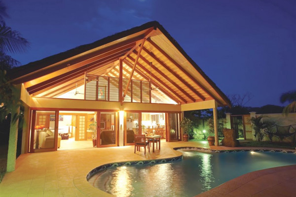 Hotel First Landing Beach Resort & Villas - Garten Villa Pool - Fiji