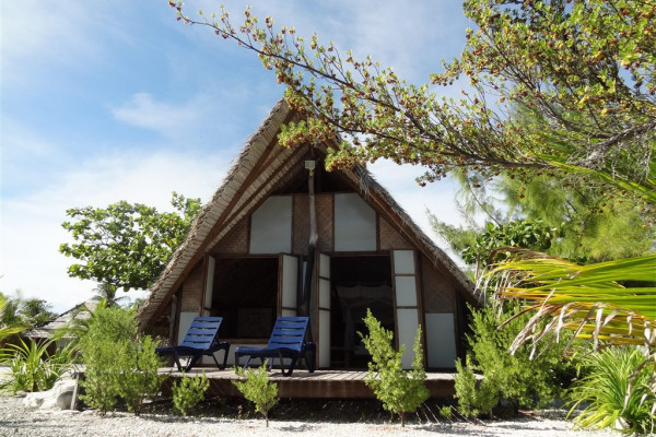 Pension Tevahine Dream Rangiroa - Strand Bungalow - Tahiti
