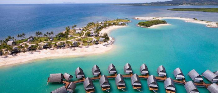 Hotel Fiji Marriott Resort Momi Bay - Überwasserbungalows - Fiji