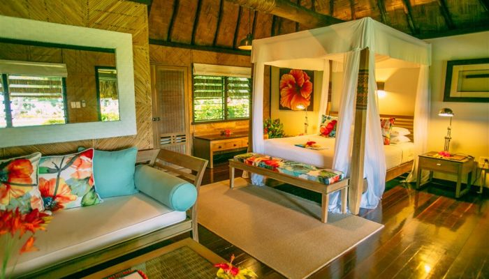 Hotel Qamea Resort & Spa - Strandbungalow - Fiji